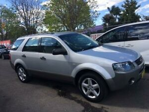 2008 Ford Territory Silver Wagon Campbelltown Campbelltown Area Preview