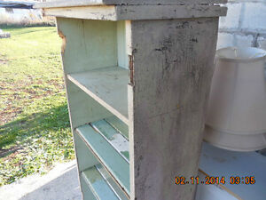 Primitive Painted Cabinet