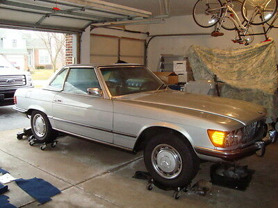 Mercedes-Benz : 400-Series Base 1974 Mercedes-Benz 450SL Base 4.5L