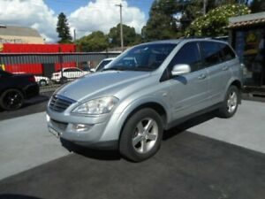2009 Ssangyong Kyron D100 M200 XDi Wagon 5dr Spts Auto 6sp 4x4 2.0DT [MY09] Silver Sports Automatic