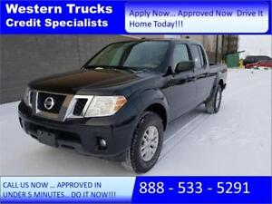 2015 Nissan Frontier SV 4x4 V6 ~ Tow Package~ Low Kms $193 B/W