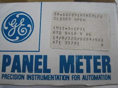 General Electric Rectifier Type Panel Meter Type D0-91
