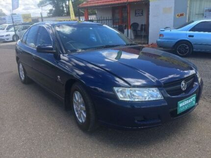 2004 Holden Commodore VZ Acclaim Blue 4 Speed Automatic Sedan