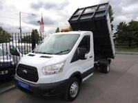 2015 65 FORD TRANSIT 2.2 TDCI 125PS DRW 1 STOP TIPPER