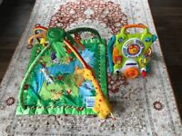 Fisher price rainforest baby gym and play mat