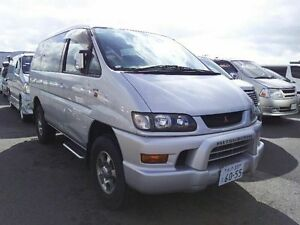 2002 Mitsubishi Delica SPACEGEAR 3.0 lt V6 Silver 4 Speed Automatic Wagon Taren Point Sutherland Area Preview