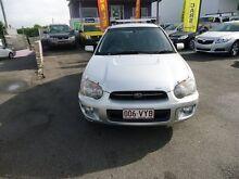 2004 Subaru Impreza MY04 GX (AWD) Silver 4 Speed Automatic Hatchback Coorparoo Brisbane South East Preview