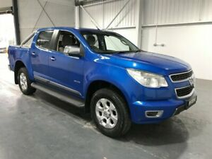 2013 Holden Colorado RG MY14 LTZ (4x4) Blue 6 Speed Automatic Crew Cab Pickup Beresfield Newcastle Area Preview