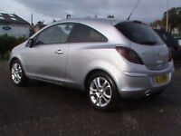 VAUXHALL CORSA 1.4 SXI 3 DR SILVER CLICK ON VIDEO LINK TO SEE CAR IN GREATER DETAIL
