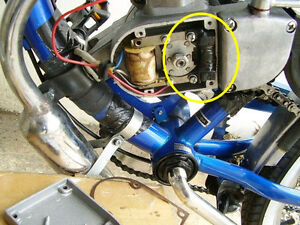 Electrical Generator for Motorized Bicycle Lighting