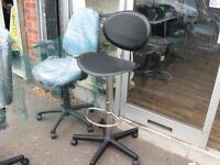 Chair bar stool type chair
