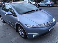 Honda Civic 2.2 i CTDi ES 5dr SMOOTH DRIVE 2007 (07 reg), Hatchback