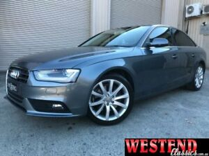 2013 Audi A4 B8 (8K) MY13 2.0 TFSI Quattro Grey 7 Speed Auto Direct Shift Sedan Lisarow Gosford Area Preview