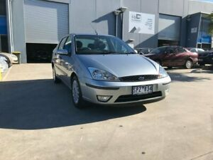 2003 Ford Focus LR CL Silver 4 Speed Automatic Sedan Newport Hobsons Bay Area Preview