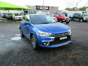 2018 Mitsubishi ASX XC MY18 LS (2WD) Blue Continuous Variable Wagon Heatherbrae Port Stephens Area Preview