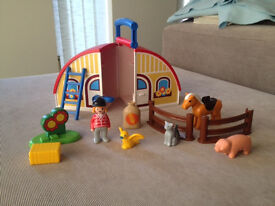 Playmobil Take along Farm Barn
