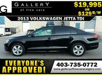 2013 Volkswagen Jetta TDI $129 bi-weekly APPLY NOW DRIVE NOW