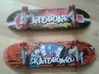 2 new action man skateboards