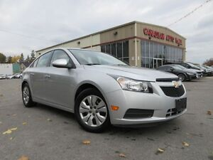 2014 Chevrolet Cruze 1LT, AUTO, A/C, LOADED, 63K!