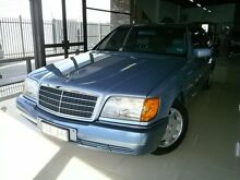 1993 Mercedes-Benz S320 W140 Altitude Blue 4 Speed Automatic Sedan Seaford Frankston Area Preview