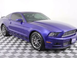 2014 Ford Mustang w/HEATED LEATHER, NEW TIRES, TINTED WINDOWS