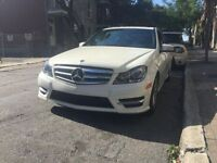 White 2012 Mercedes-Benz C250