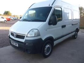 Vauxhall Movano 2.5CDTI 16v ( 100ps ) MWB 3500 High Roof