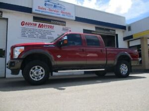 2016 Ford F-350 King Ranch Powerstroke Diesel, Fully Equipped, L