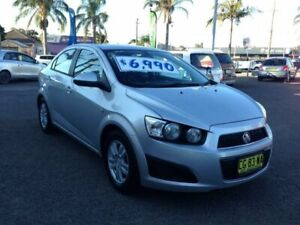 2012 Holden Barina TM MY13 CD Silver 6 Speed Automatic Sedan Broadmeadow Newcastle Area Preview