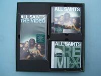 All Saints - Big Box Set - CD Album, Pete Tong Remix CD - VHS Video & Booklet