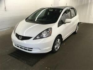 2013 Honda Fit LX BLANC AUTOMATIQUE A/C CRUISE 31$/SEM