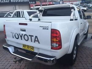 2006 Toyota Hilux SR5 4.0L White Automatic Utility Croydon Burwood Area Preview