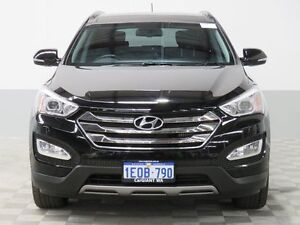 2014 Hyundai Santa Fe DM Highlander CRDi (4x4) Black 6 Speed Automatic Wagon Jandakot Cockburn Area Preview