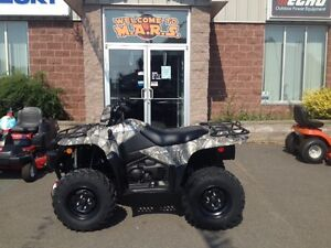 FREE TRAILER 2016 Suzuki 750 King Quad ONLY $39 per week OAC