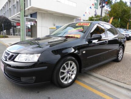 2006 Saab 9-3 MY06 ARC 2.0T Black 5 Speed Automatic Sedan Southport Gold Coast City Preview