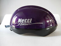 Netti Stream Purple cycle helmet. Size med/large 58-60CM.
