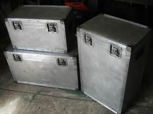 Road Cases--3 Sizes--Aluminiuim--Safe Storage or Shipping Singleton Rockingham Area Preview