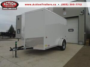 BETTER QUALITY FOR LESS- 2016 6X10 CARGO TRAILER -SCREWLESS