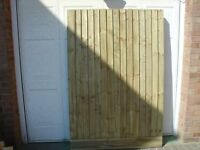 Garden Timber Gates made to any size