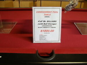 POOL TABLES - USED - THREE TO CHOOSE FROM!!! Kitchener / Waterloo Kitchener Area image 2