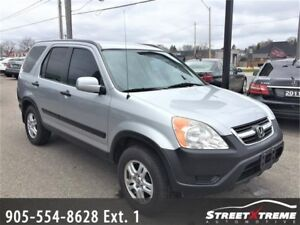 2002 Honda CR-V EX|ACCIDENT FREE|ALL WHEEL DRIVE|CLARION SOUND