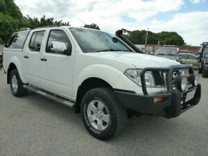 2009 Nissan Navara D40 ST-X White Manual Utility Townsville Townsville City Preview