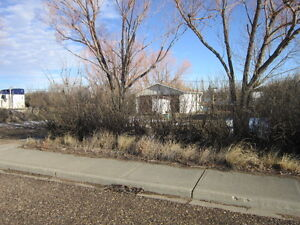 Fully serviced lot in Hilda with 20 by 24 garage,