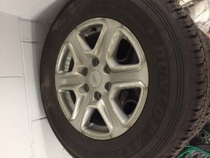 Ford Ranger PX 17 inch Wheels & Tyres (SET OF x 4)