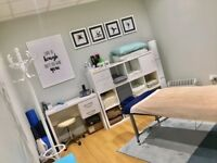 Treatment room available in a busy gym in West Ealing W13 for massage, osteopathy, chiropractic
