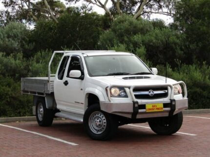 2010 Holden Colorado RC MY10 LX Space Cab White 5 Speed Manual Cab Chassis