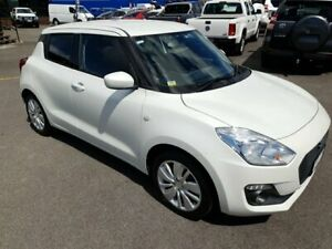 2017 Suzuki Swift AZ GL Navigator White 1 Speed Constant Variable Hatchback Bungalow Cairns City Preview