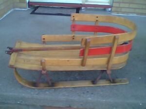 Original Vintage Child's Winter Sleigh / Sled in Great Condition