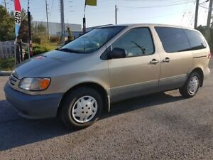 2002 Toyota Sienna CE, POWER GROOP, AIR CONDITION ONLY 151 KMS