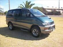 MITSUBISHI DELICA SPACEGEAR 1997 MODEL VAN TURBO DIESEL AUTO $499 Alberton Port Adelaide Area Preview